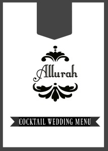 COCKTAIL WEDDING FRONT