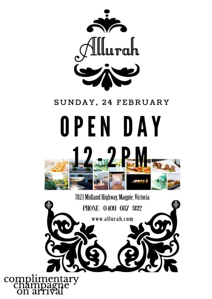 ALLURAH OPEN DAY